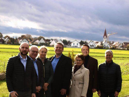 Kandidaten der CSU Pfuhl für die Stadtratswahl 2020